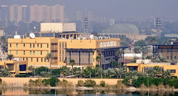 سفارت آمریکا در بغداد اعلام کرد: هیچ آمریکایی در حمله راکتی آسیب ندید