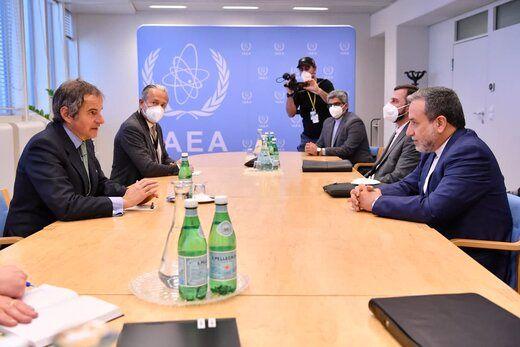 دیدار عراقچی با مدیر کل آژانس بین المللی انرژی اتمی