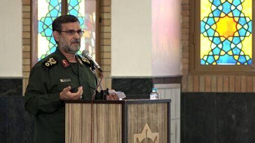 سردار تنگسیری: داعش تا نزدیک مرزهای ایران آمده بود