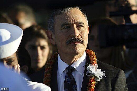سیبیل سفیر آمریکا در کره جنجال به پا کرد! /عکس