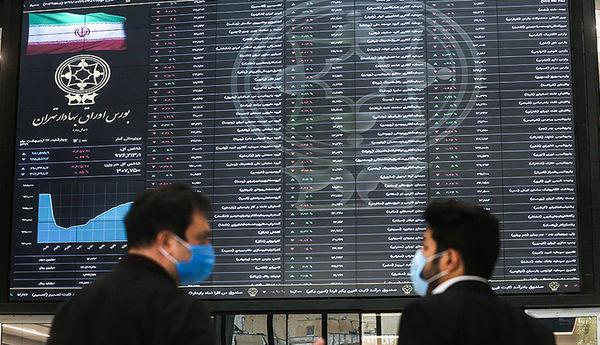 آخرین تحولات بورس تهران/ دو سمت سبز و قرمز بازار