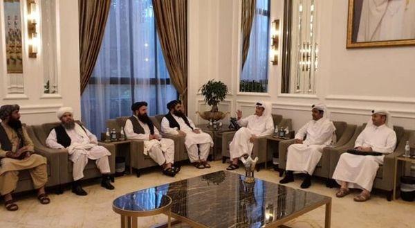 خبر طالبان از دیدار با وزیر خارجه قطر