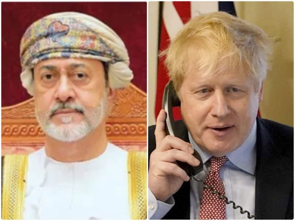 روابط دو جانبه محور گفتوگوی تلفنی نخست وزیر انگلیس و پادشاه عمان