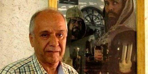 بدرقه پیکر محمود فلاح به سوی آرامگاه ابدی