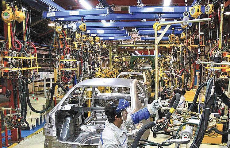 خروج موقت خودروسازی از ورشکستگی