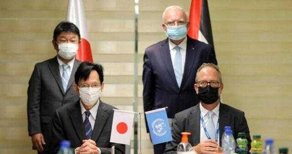 کمک ۳.۷ میلیون دلاری ژاپن به غزه