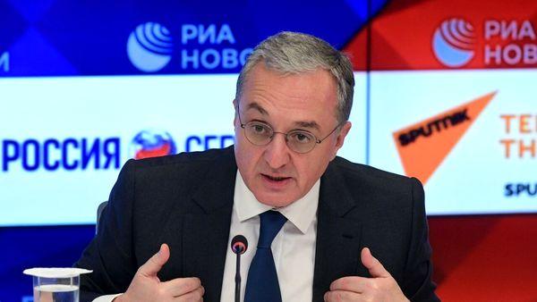 وزیرخارجه ارمنستان: ایران در مسائل بینالمللی موضع سازنده دارد
