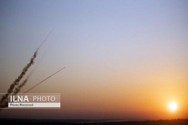 شلیک یک راکت از نوار غزه به سمت اراضی اشغالی