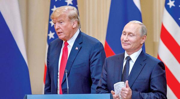 ترامپ را پوتین پرزیدنت کرد؟