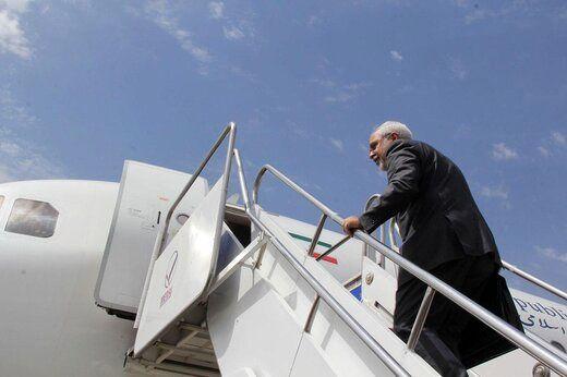 ظریف ترکیه را به مقصد روسیه ترک کرد