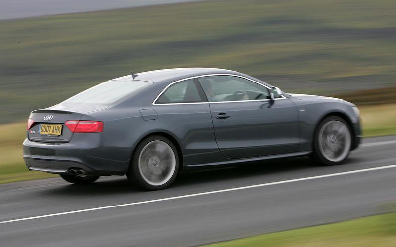 اتومبیل Audi A5 سال ۲۰۰۵
