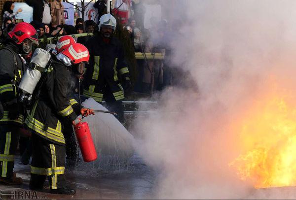آتشسوزی در جنوب تهران ۶ نفر را مصدوم کرد